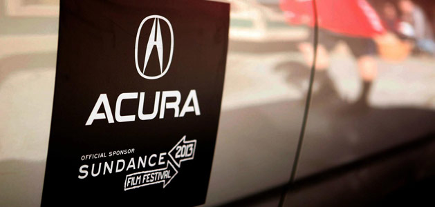 Acura - Official Sponsor of the 2013 Sundance Film Festival