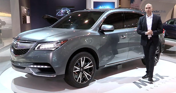 2014 Acura MDX Prototype at the Canadian International Auto Show