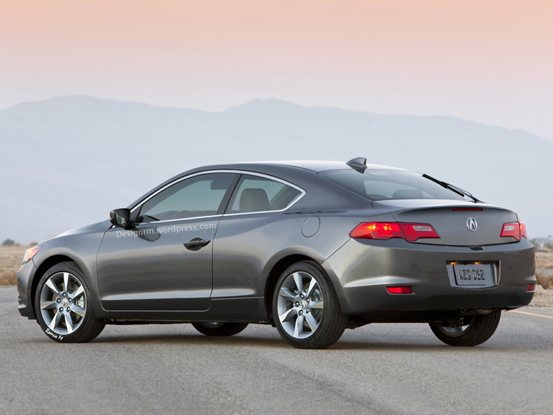 Rendered: Acura ILX Coupe