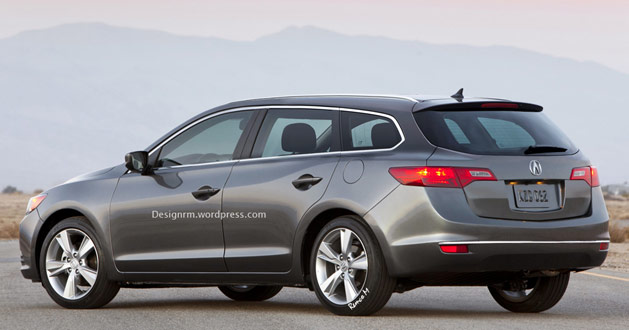 Acura ILX Five-Door Wagon Hatchback