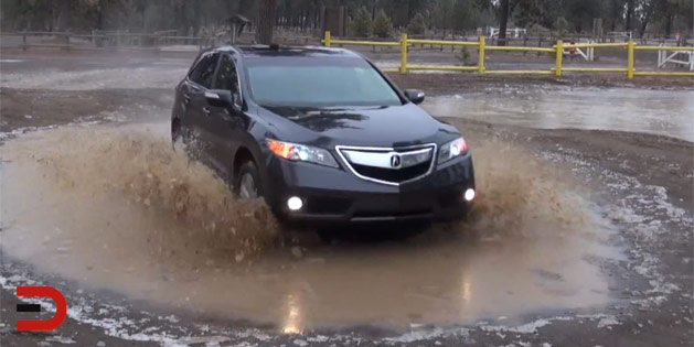 2014 Acura RDX AWD Off-Road Test Review