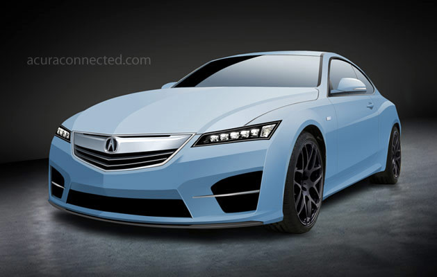 Rendered: 2016 Acura Coupe