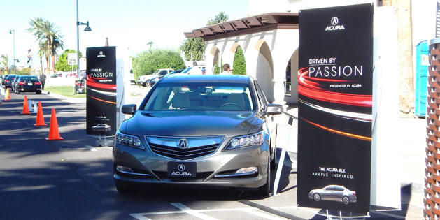 Acura RLX at Scottsdale Driven by Passion Event