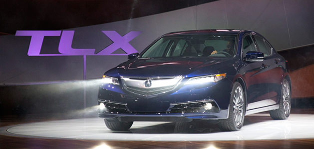 Gallery: 2015 Acura TLX Unveiled at NYIAS
