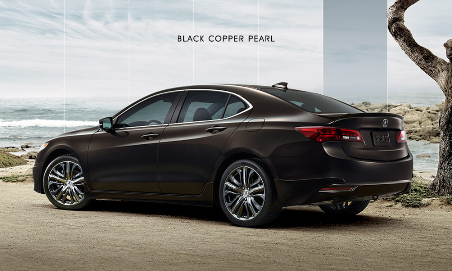 2017 Acura Tlx In Black Copper Pearl