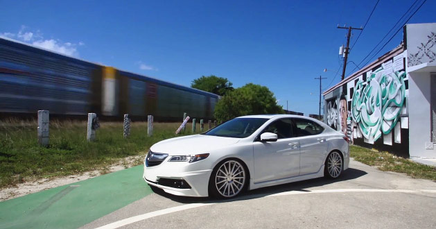 Video Acura Tlx Vossen 20 Vfs 2 Concave Wheels Acura