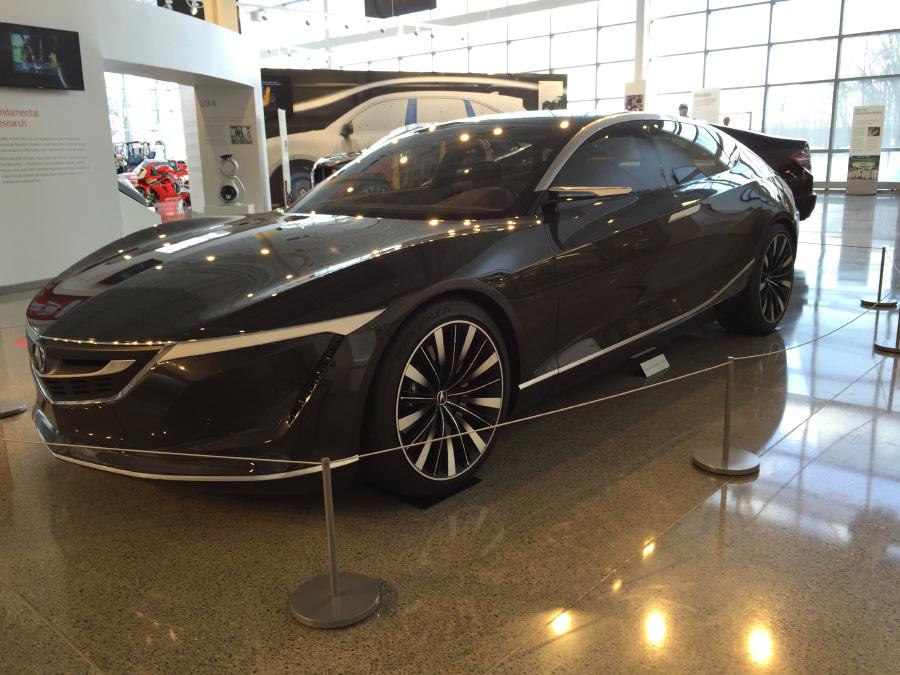 Acura Sedan Design Study At The Honda Heritage Center