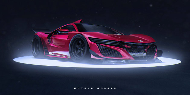 Acura NSX Le Mans Race Car
