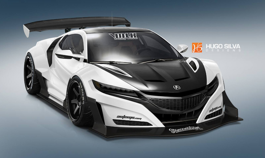 2016 Acura NSX Render Compilation – Acura Connected on
