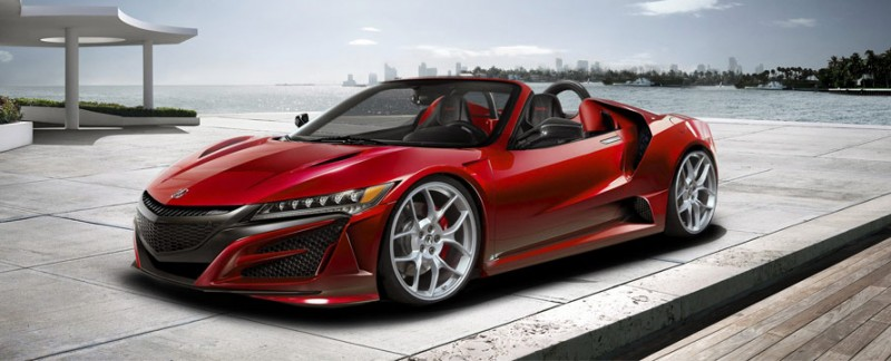 Acura NSX Roadster by jasiovt
