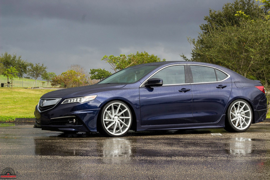 Luis Fathom Blue Pearl 2015 Acura Tlx Acura Connected