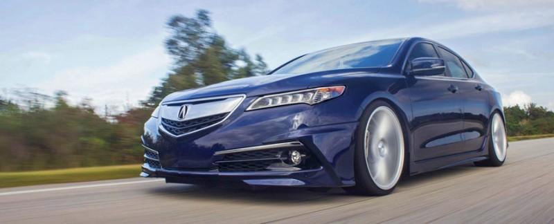 Luis' Fathom Blue Pearl 2015 Acura TLX