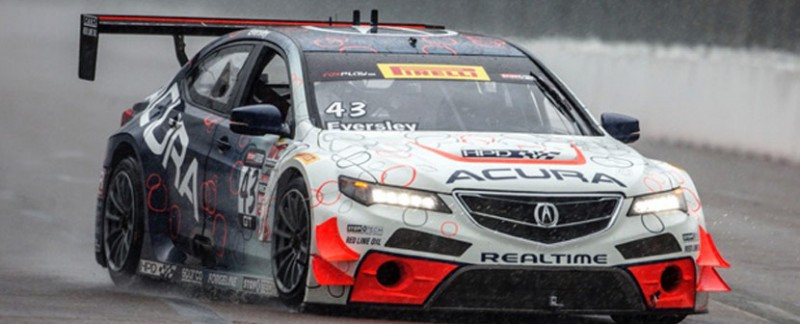 Ryan Eversley RealTime Racing Acura TLX GT