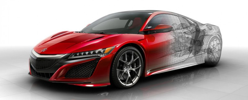 Next Generation Acura NSX