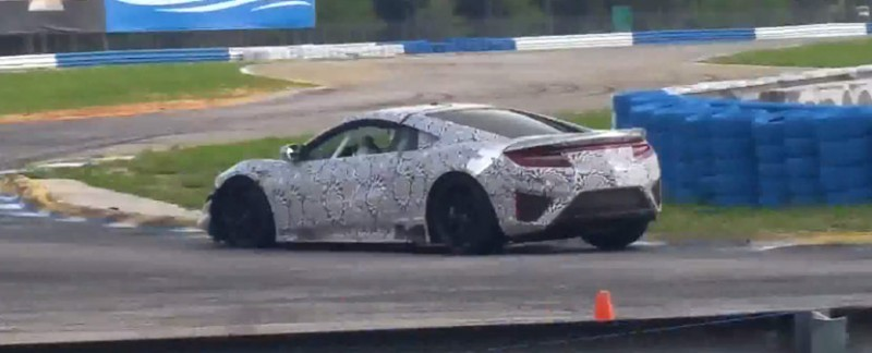 NSX Testing at Sebring International Raceway
