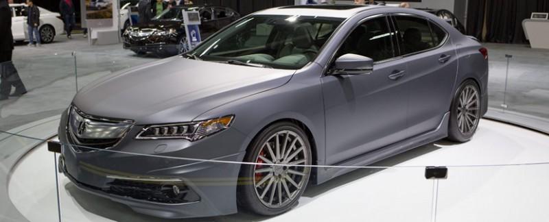 Matte Gray 2015 Acura TLX