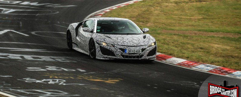 NSX Prototype at the Nürburgringay at the Nürburgring