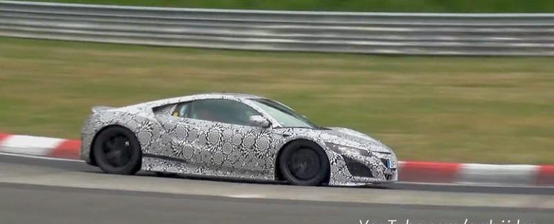 NSX Prototype Testing Nürburgring