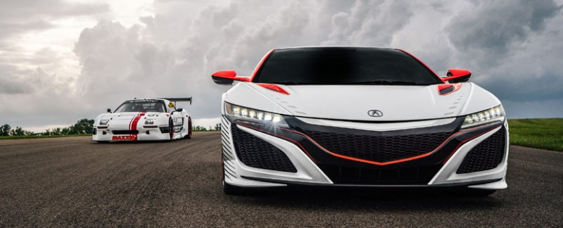 Acura NSX Pace Car Pikes Peak International Hill Climb