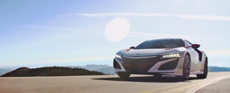 Acura NSX Sets the Pace at Pikes Peak