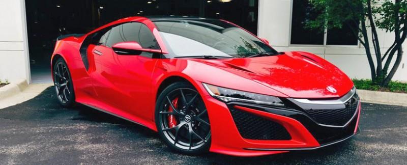 2016 Acura NSX Road Trip