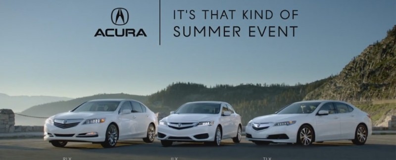 Video: It's That Kind of Summer Event 2015 – Acura Connected
