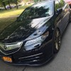 2015 Acura TLX with Front Lip