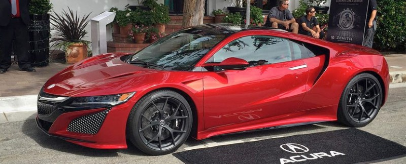 Acura NSX Monterey Car Week 2015