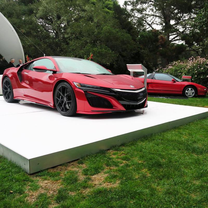 Snapshots: Acura At Monterey Car Week 2015