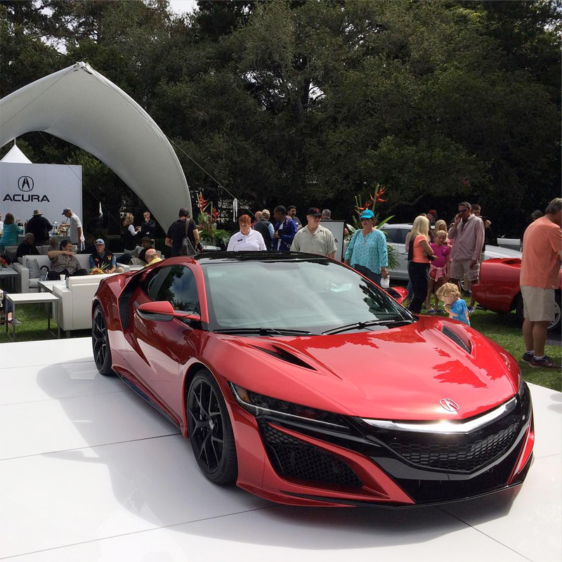 Snapshots: Acura At Monterey Car Week 2015