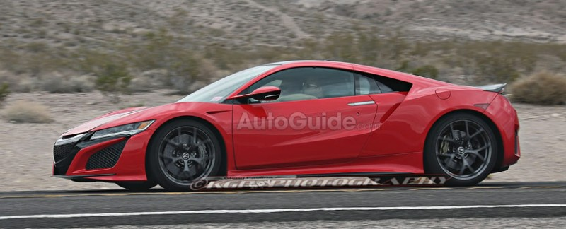 AutoGuide.com: 2016 Acura NSX Spy Photos in High Resolution