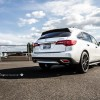 "White Diamond Pearl 2016 Acura MDX on Vossen 22"" CVT Wheels"