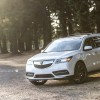 "White Diamond Pearl 2016 Acura MDX on Vossen 22"" CVT Wheels"