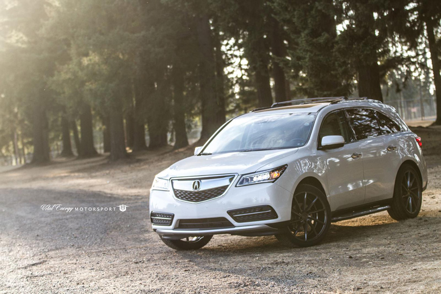 Gallery: 2016 Acura MDX on 22″ Vossen CVT Wheels – Acura Connected