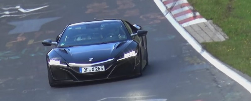 Next Generation Acura NSX on the Nürburgring