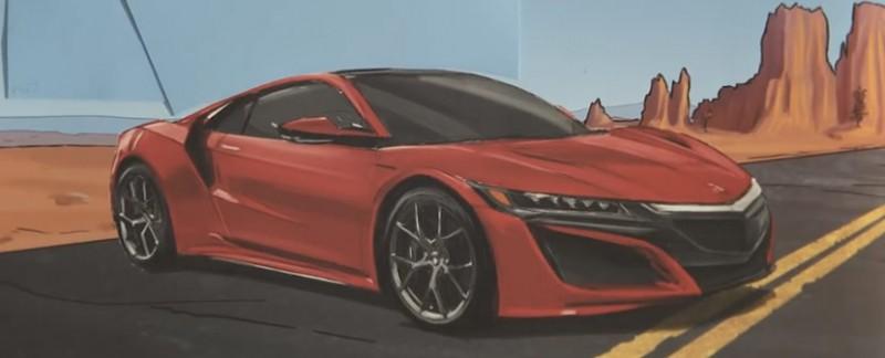 """Honda """"Paper"""" Acura NSX"""