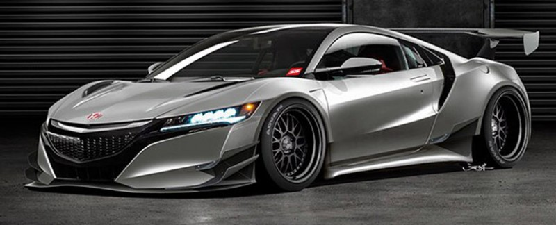 Widebody NSX by Jon Sibal