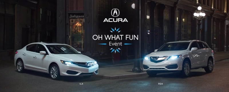 "Acura ""Oh What Fun It Is To Drive"" Commercials"