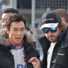 Takuma Sato, Fernando Alonso. Honda Racing Thanks Day 2015.