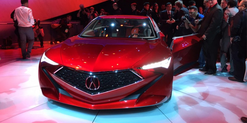 Acura Precision Concept at NAIAS 2016