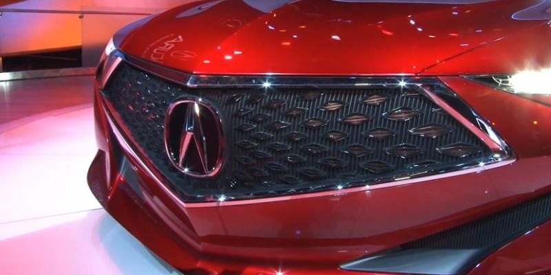 Acura Precision Concept Walkaround with Dave Marek