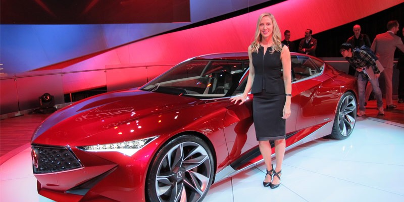 Acura Precision Concept Designer Michelle Christensen. Photo by Motor Authority