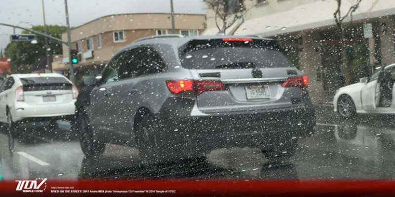 Spied: 2017 Acura MDX. Photo by vtec.net.