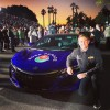 Acura NSX Leads the 2016 Rose Parade as Official Pace Car. Photo by @RyanHunterReay via Twitter