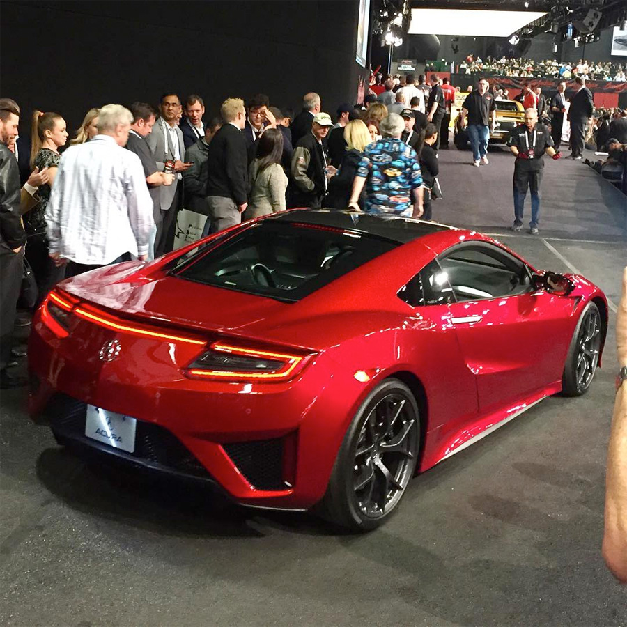 2017 ACURA NSX VIN #001 Sells For $1,200,000