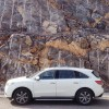 Acura MDX & the rocks of Jabal Jais-UAE. Photo by Fahad Alshaya.
