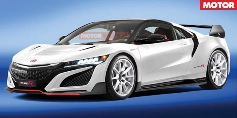 Rendered: Second-Generation Acura NSX Type-R – Acura Connected
