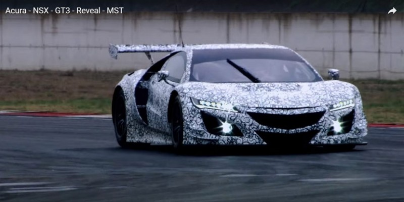 Spied: Acura NSX GT3