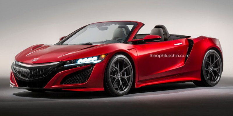 NSX Roadster by Theophilus Chin