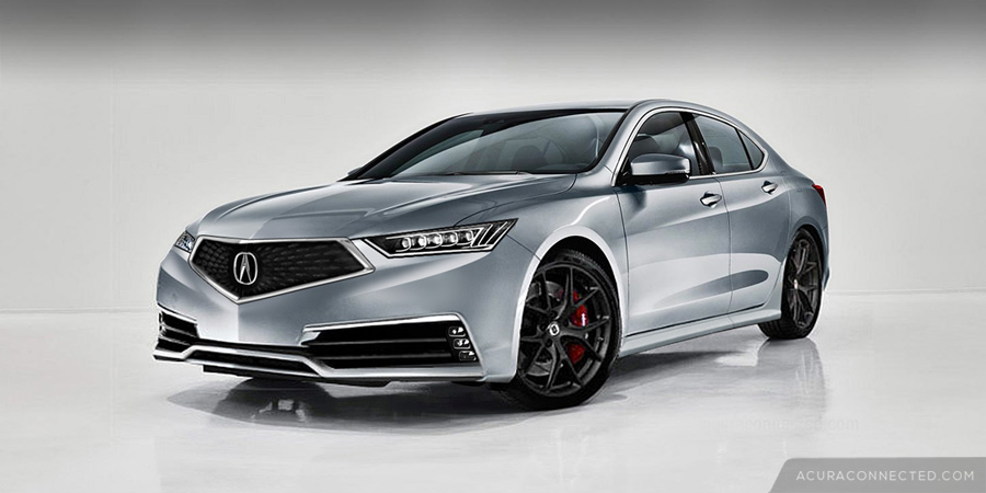 Rendered: 2018 Acura TLX with Diamond Pentagon Grille | Acura Connected